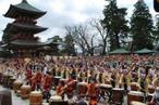 「千願華太鼓」をはじめとする、数々の賑やかなステージを開催!