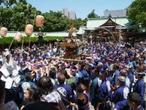 日枝神社「山王祭の2年に1度の神幸祭」