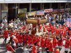 【第40回・よこすかみこしパレード】を『米海軍横須賀基地内』よりお祭りを観覧!