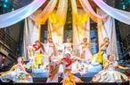 豪華絢爛なニューハーフショー!プロダンサーによる和の再現