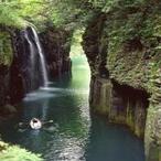 日本の滝100選に選ばれる高千穂峡・真名井の滝